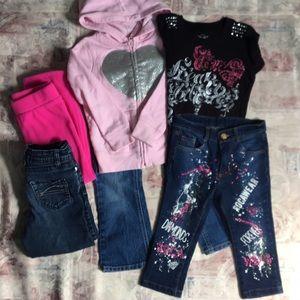 Girls 6pc Lot Size 4 - 5T Bundle